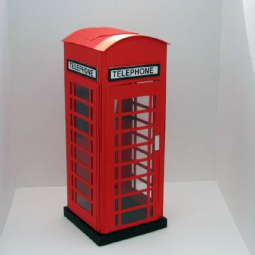 Public Telephone Box Template